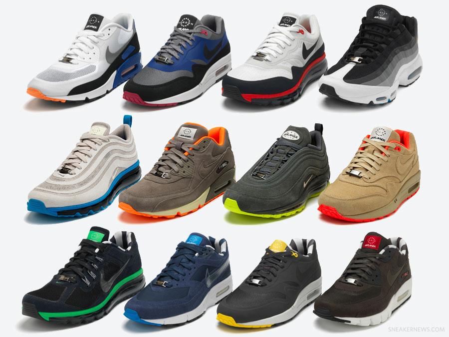 Nike air max 'home turf' pack | HIDE and SNEAKS